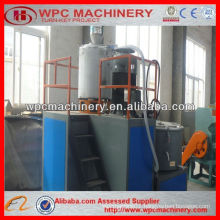wood plastic making mixing machine