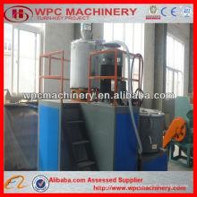 Máquina de mistura de plástico de madeira