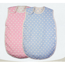 100% Cotton Muslin Baby Sleeping Bag with 6 Layers Gauze