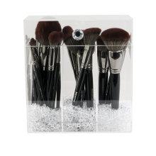 Diamond Collection Acrílico Makeup Brush Holder