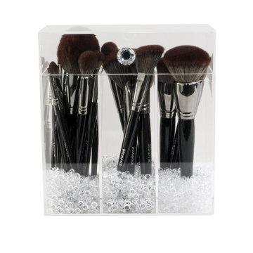 Diamond Collection Acryl Make-up Pinselhalter