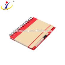 De Buena Calidad Cuaderno de ejercicio de papel Kraft al por mayor, 13.5cm * 18cm