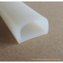 SGS Approved Fire Resistant Silicone Weather Stripping