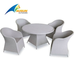 4 seaters garden rattan sets