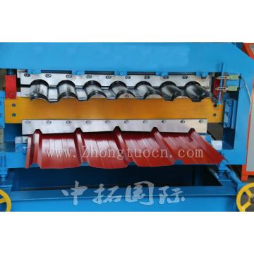 Double Layer Metal Roof Roll Forming Line Produksi