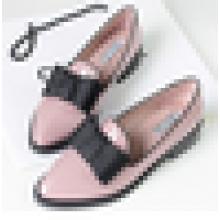 Дешевые Необычные Оксфорд обувь для женщин дамы плоский обуви обуви