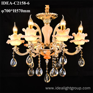 decorative crystal candle chandelier pendant lights