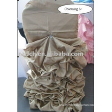 Satin wedding chair cover, banquet chair cover, charming chair cover