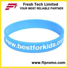 Promocionais OEM Empresa Presente Silicone Wristband