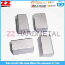 Inserções de metal duro