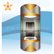 Mrl Passenger Elevator avec machine sans engrenage Xr-G08
