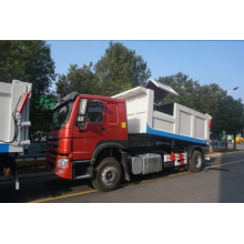SINOTRUK HOWO tipper dust cart