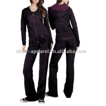 latest Ladies velour tracksuits