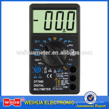 Large Screen Digital Multimeter DT700D with CE Buzzer Squre Wave Out-put