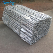 Cheap Galvanized Used Steel Fence T Post