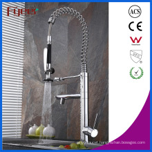 Fyeer Newest Double Spray Pull out Kitchen Sink Faucet