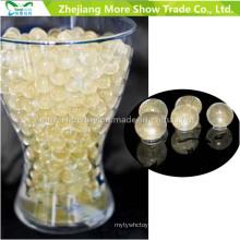 Perles d'eau en cristal de paillettes d'or