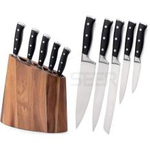 As facas 5PCS ajustaram a faca de cozinha (BS4B)