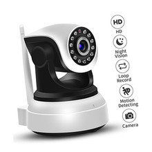 Two Way Audio 720P Indoor Wifi IP Camera