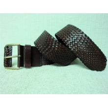 Champion belt China's largest leather woven men's belt belt supplier