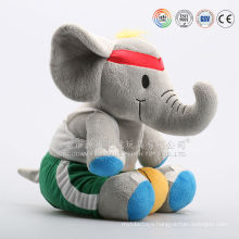 Baby toy grey plush elephant cuddly soft toy