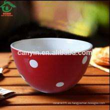 Oem Tazón de fuente de sopa de cerámica de la venta al por mayor del precio barato