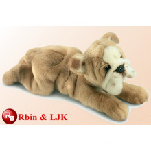 Meet EN71 and ASTM standard ICTI plush toy factory stuffed bulldog