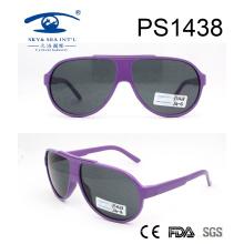 2017 New Design Fashion Women Óculos de sol para PC (PS1438)