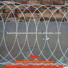 CBT-65 silver antioxidation razor barbed wire