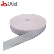 Correas de cinta de borde de colchón de poliéster personalizado de color blanco