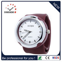 Silicone Slap High Quality Watch Bracelet Clap Silicone Wristwatches (DC-1364)
