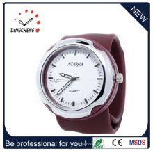 2015 Brown Fashion, reloj de alta calidad de la palmada (DC-915)