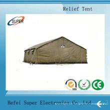 Tentes de secours aux sinistrés résistantes à l'usure dans le tremblement de terre