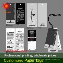 étiquette en papier kraft