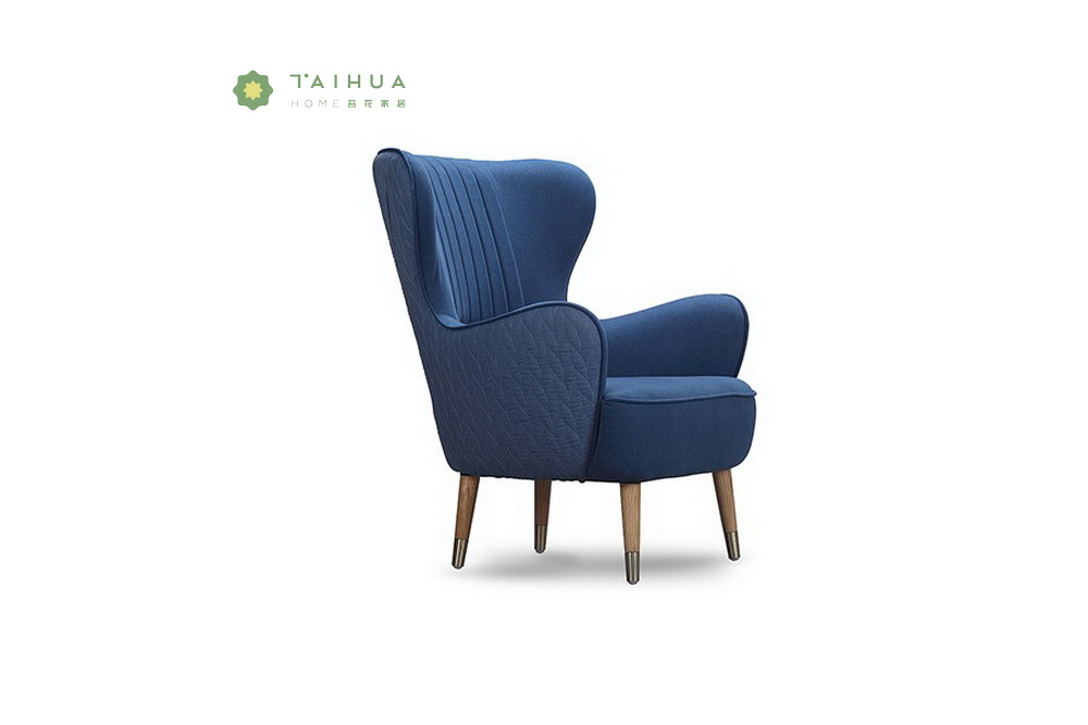 Blue Leisure Sofa