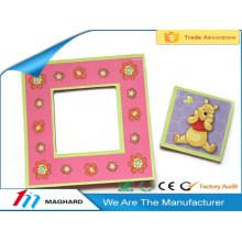 Завод поставщик желтый медведь мультфильм магнитная рамка