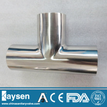 3A Stainless Steel Sanitary Welded Equal Tees