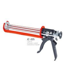JC-205 Silicone Sealant Cylinder PNEU Power Coated Aluminum Handle Caulking Gun
