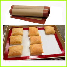 Hot Sale Microwave Safe Frying Silicone Baking Mats