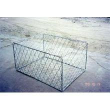 Caja de Gabion de 2 * 1 * 1m en la fábrica de Anping