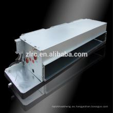 Unidad de bobina de ventilador de agua enfriada