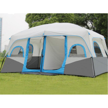 Im Freien großes 10-12 Personen-Picknick-Partei-doppeltes teleskopisches automatisches Zelt