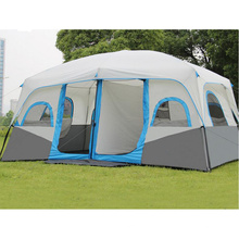 Outdoor Big 10-12 Person Picnic Party Double Telescopic Automatic Tent