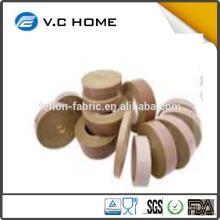 Производство в Taixing Скотч с высокой плотностью PTFE с клейкой лентой из стекловолокна