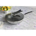 30cm Tri-ply Stainless Steel Nonstick Cookware Frying Pan