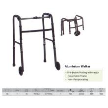 Wanderer aus Aluminium