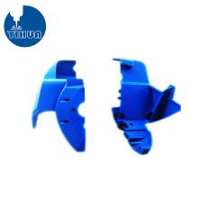 Blue Powder Coating CNC Aluminum Part