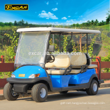 EXCAR 6 seater cheap electric golf cart golf car for sale china mini bus