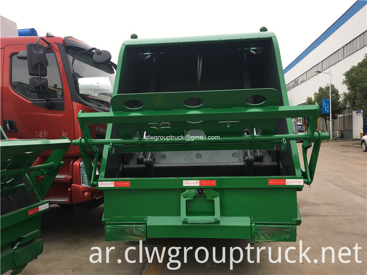 Garbage Collector Truck6