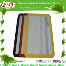FDA Rectangle Beautiful cute fashionable silicone heat resistant mat